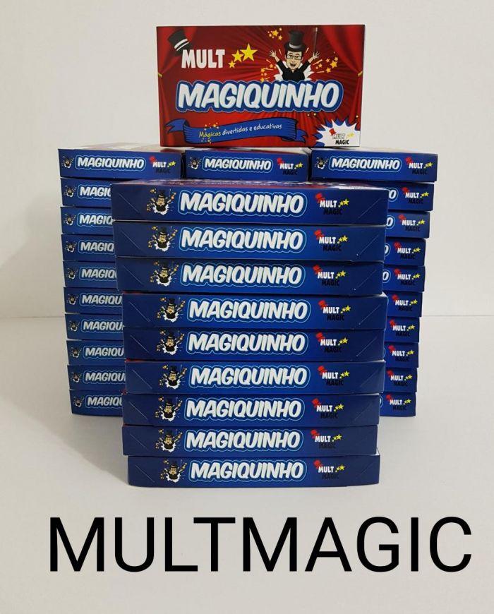 KIT DE MÁGICA MAGIQUINHO 5 mágicas infantil Lembrancinha - Embalagem c/ 40 caixinha