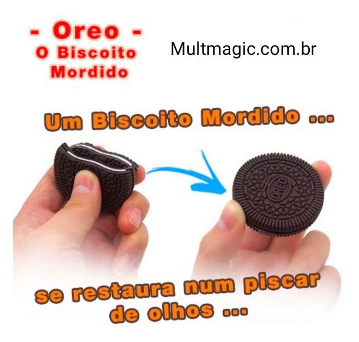 BOLACHA MORDIDA biscoito bite oreo